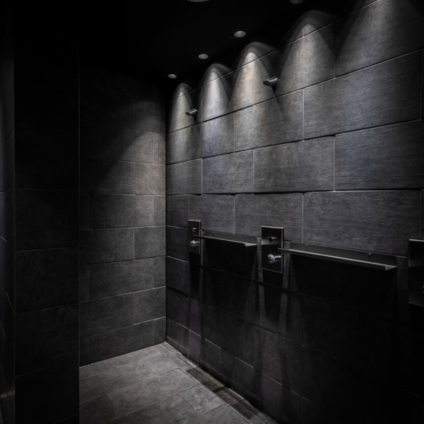 fitnessstudio, duschen, shower
